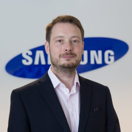 Tim Biddulph,Head of Product and Marketing for Samsung Techwin Europe Ltd